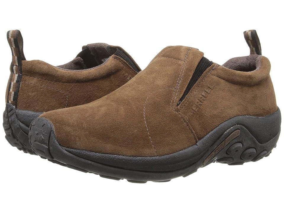 Merrell Jungle Moc (Dark Earth Suede) Men's Slip on  Shoes