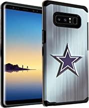 Galaxy Note 8 Case, DURARMOR Note 8 Blue Star Dual Layer Hybrid ShockProof Ultra Slim Fit Armor Air Cushion Defender Protector Cover for Note 8 Blue Stars (cowboys)