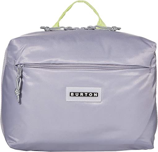Lilac Gray Flight Satin