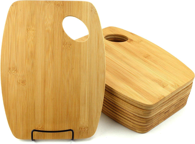 Bulk Plain Max 76% OFF Bamboo Cutting Board Set of Eng Free Shipping Cheap Bargain Gift For Customized 12