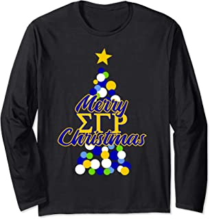 Sigma SGRho Gamma Sorority Rho Christmas Long Sleeve Shirt