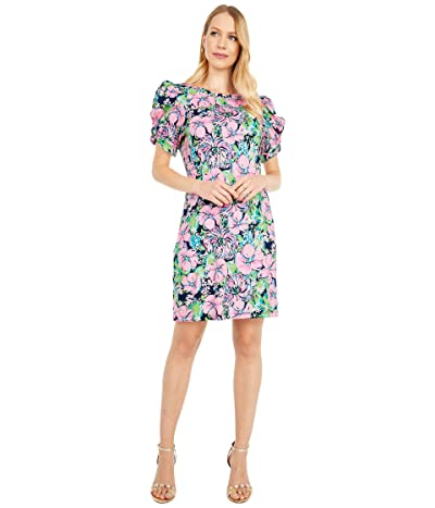 Lilly Pulitzer Anabella Dress (High Tide Navy Tall Order) Women