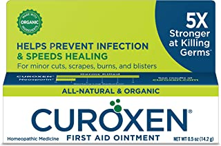 CUROXEN First Aid Antibiotic Ointment, 0.5oz | All-Natural & Organic