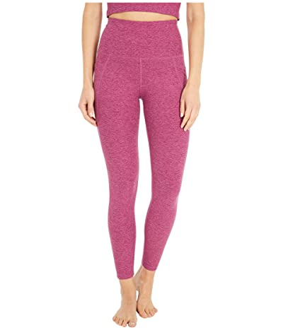Beyond Yoga Spacedye High Waisted Pocket Midi Legging (Desert Berry) Women