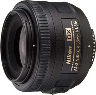 Nikon Af-S Dx Nikkor 35Mm F/1.8G Lens For Nikon Dslr Cameras, Black Jaa132Da