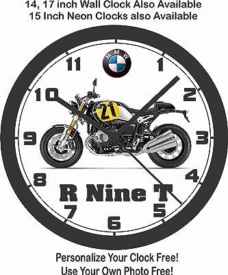 amazon 2017 ducati scrambler full throttle wall clock free us 1951 Ford Truck 2017 bmw r nine t motorcycle wall clock free usa ship