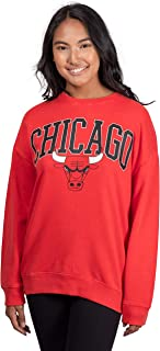 red chicago bulls sweater
