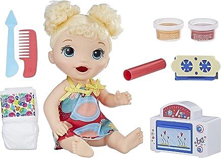 Boneca Baby Alive Meu Forninho Hasbro Loira