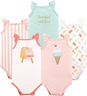 Unisex Baby Cotton Sleeveless Bodysuits