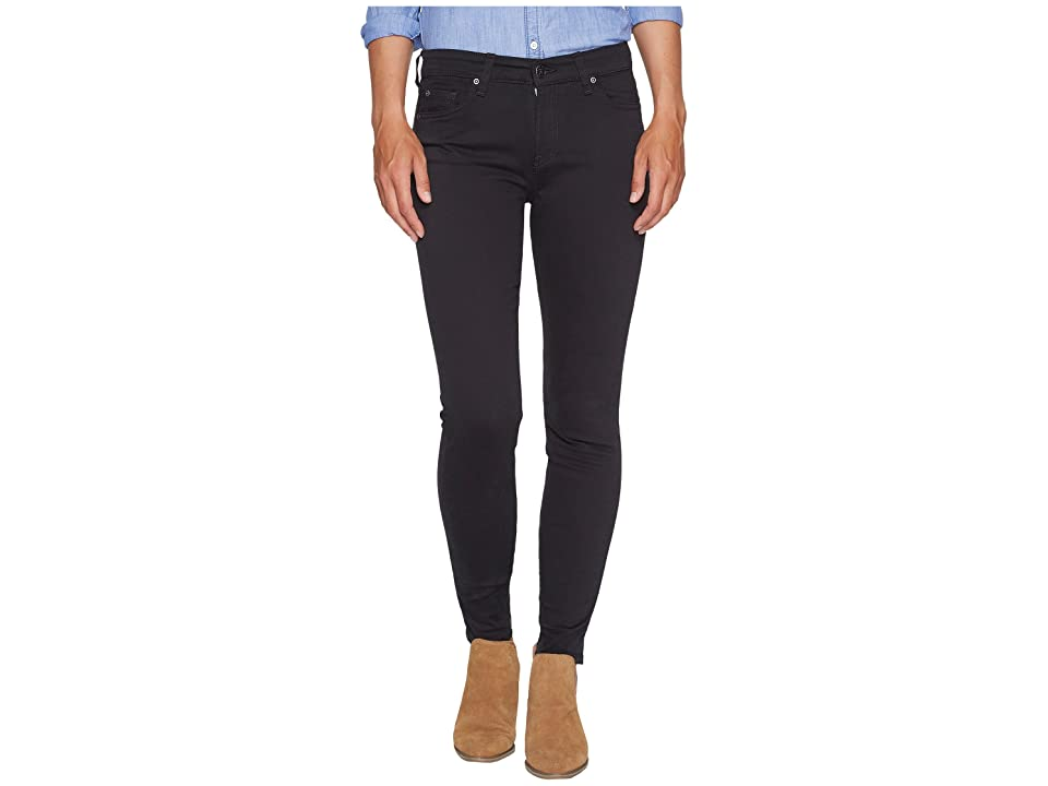 Agave Denim Harlowe Twill Skinny Fit in Stretch Limo (Stretch Limo) Women's Jeans