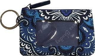 Women's Zip ID Case (Blue Tapestry)