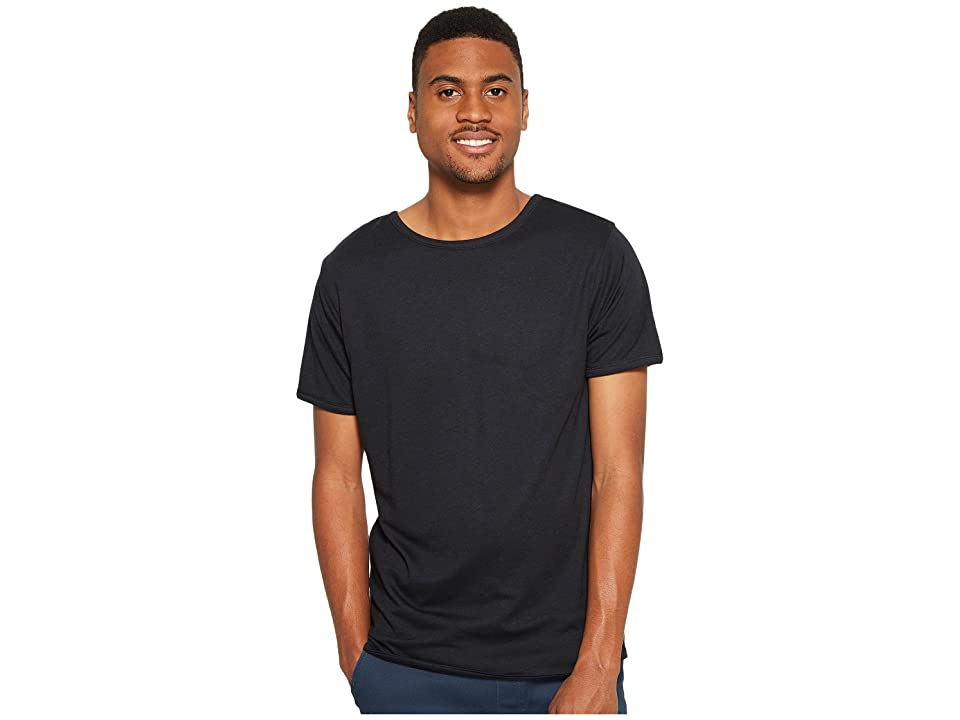 Image of 4Ward Clothing Four-Way Reversible Short Sleeve Jersey Shirt (Black/Black) Boy's T Shirt