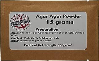 Agar Agar Powder - 15 grams, Laboratory Grade