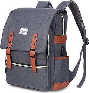 Vintage Laptop Backpack for Women Men,School College Backpack