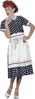 Fun World Women`s Licensed I Lovelucy Polka Dot Dress