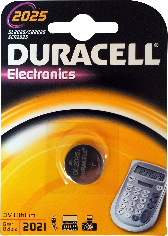 Duracell Cr2025 Lithium Knopfzelle Elektronik