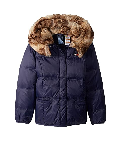 95f911ccc9c0 Tommy Hilfiger Adaptive Puffer Jacket with Magnetic Buttons and Faux ...