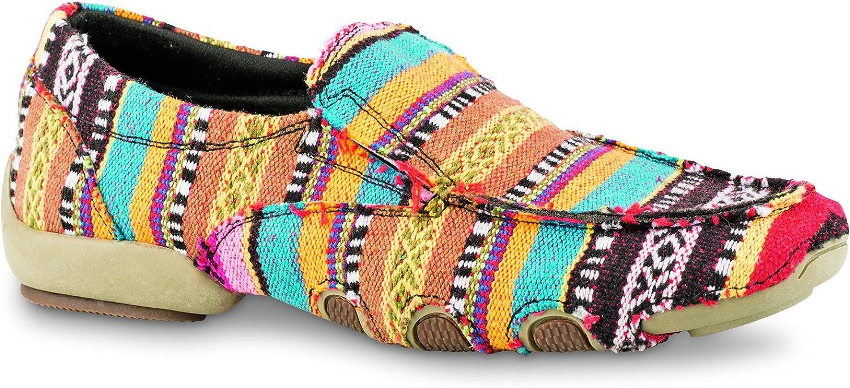 Roper Western shoes Womens Southwest 10.5 Black 09-021-1776-0124 BL
