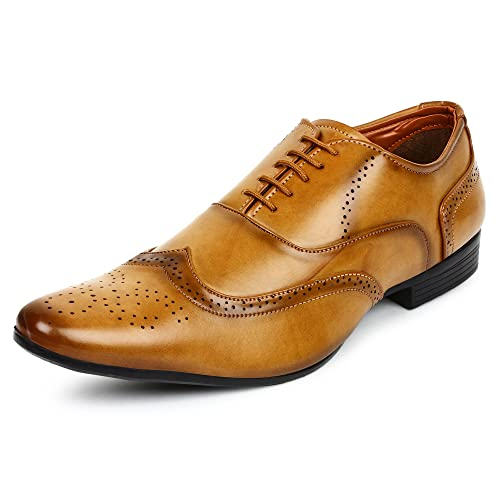 a1609138a7c Tan Shoes  Buy Tan Shoes Online at Best Prices in India - Amazon.in