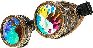 YeahiBaby 2pcs kal/éidoscope Jouet avec kal/éidoscope de Corps en m/étal lentille Miroir pour Les Enfants Adultes Party Favors Jouet /éducatif de Science de d/éveloppement Motif al/éatoire