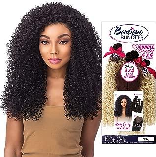 Sensationnel Human Hair Blend Weave Premium Too 3 Multi Bundles Boutique Kinky Curly (18