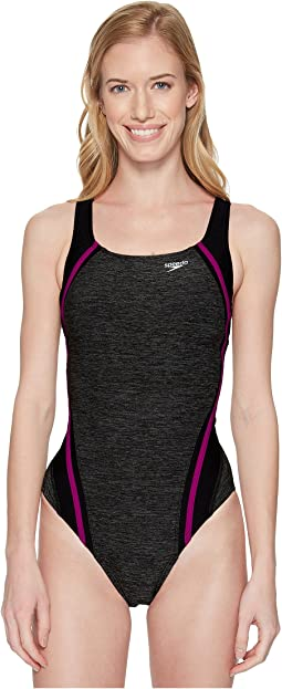 Speedo - Heather Quantum Splice One-Piece