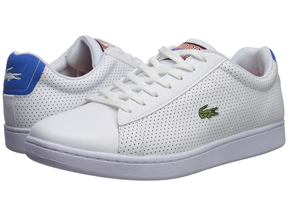 Lacoste Carnaby Evo 218 2 (White/Blue) Men