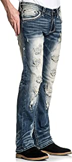 Ace Armory Jacksonville Slim Straight Leg Fashion Denim Jeans Pants for Men