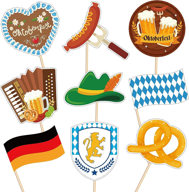 Oktoberfest Cupcake Toppers – free Beer Day Bavarian Ca Festival Weekly update