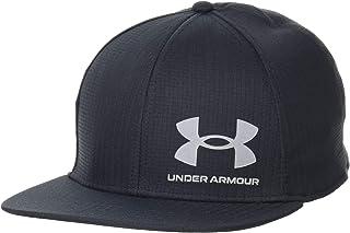 [アンダーアーマー] トレーニング UAアイソチル アーマーベント フラットブリム メンズ Black / / Pitch Gray ONESIZE