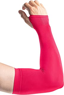 UV Sun Protection Arm Sleeves Men Women Cooling Compression Cover Shield UPF 50+, 1-3 Pairs