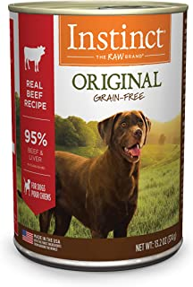 Instinct Grain Free Wet Dog Food, Original Recipe Natural Canned Dog Food