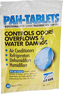 AC Safe Pan Tablets - 30 Count: Cleans scum in Drain Pans and Humidifiers