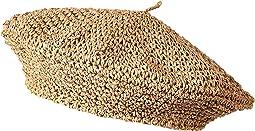 Paperstraw Crochet Beret