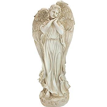 """24.5/"""" Angel on Cloud Holding Dove Outdoor Garden Statue Joseph/'s Studio # 63653"""