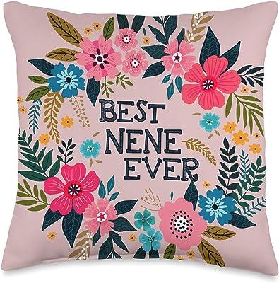 Amazon Com One Bella Casa Cheery Heads Throw Pillow By Judit Garcia Talvera 16 X 16 Multi Home Kitchen