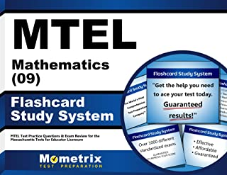 MTEL Mathematics (09) Flashcard Study System: MTEL Test Practice Questions & Exam Review for the Massachusetts Tests for Educator Licensure