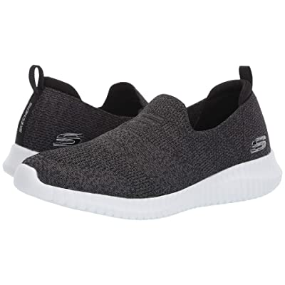 SKECHERS Elite Flex Aelhill (Black/White) Men