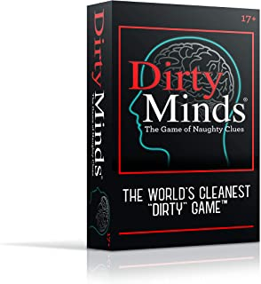 Dirty Minds – The Game of Naughty Clues - Soft Touch Packaging