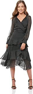 Cooper St Women's Paige Long Sleeve Wrap Dress