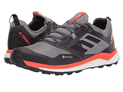 adidas Outdoor Terrex Agravic XT GTX(r) (Grey Five/Black/Active Orange) Men