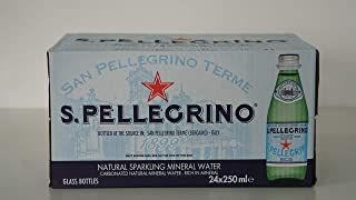 San Pellegrino Sparkling Water - 250 ml (Pack of 24)