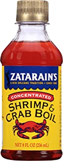 Zatarain's New Orleans Style Liquid Crab Boil, 8 oz (Pack of 6)
