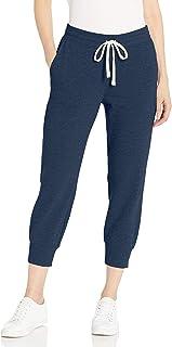 Amazon Essentials French Terry Capri - Pantalón de chándal de Forro Polar Pantalones de chándal para Mujer