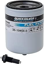 Quicksilver 18458Q3 Water Separating Fuel Filter Kit With Black Water Warning Sensor