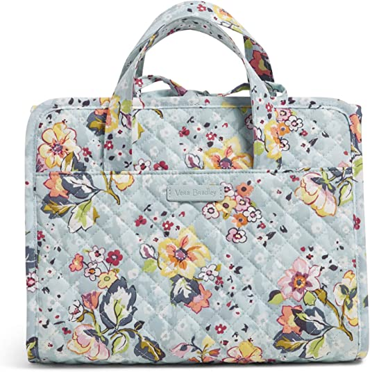 cute pratctical toilet bag with flowers