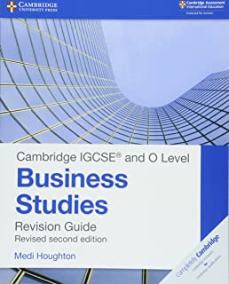 Cambridge IGCSE ® and O Level Business Studies Second Edition Revision Guide