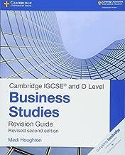 Cambridge IGCSE ® and O Level Business Studies Second Edition Revision Guide (Cambridge International IGCSE)