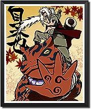 Yansang Anime Naruto Jiraiya Used For Bathroom Decor Wall Decor Home Decor Canvas Print Poster,Unframed,8 x 10 Inches,Set ...