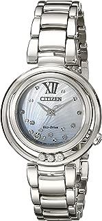 Citizen Women's Eco-Drive Stainless Steel Diamond Sunrise Watch